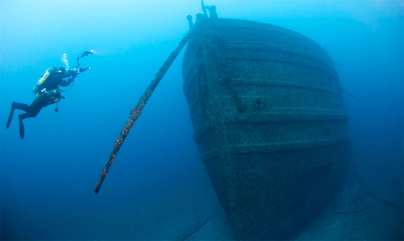 Alpena Shipwrecks